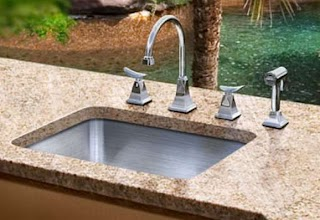 Outdoor Kitchen Plumbing Sinks Stainless Steel Quality By Just