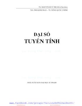 Dai so tuyen tinh - Nguyen Duy Thuan.pdf