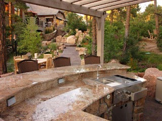 Outdoor Kitchen Countertops Ideas Pictures From Hgtv Hgtv