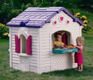 Outdoor Playhouse with Kitchen a Encourage Your Childs Imagination