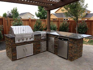 Outdoor Kitchen Lowes Island Paristriptips Design Easy