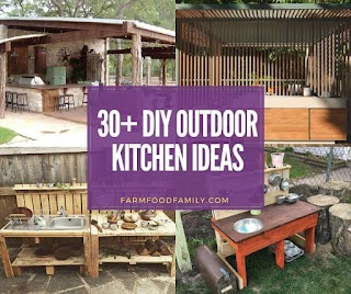 Country Outdoor Kitchen Ideas 31 Stunning Designs with Pictures for 2019