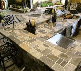 Outdoor Kitchen Countertops Ideas Orlando Adp Surfaces