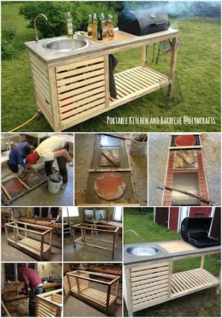 Outdoor Portable Kitchen Brilliant Project Build Your Own Allinone