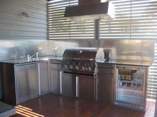 Outdoor Kitchen Brisbane Custom 100 Stainless Steel S Bbq Units