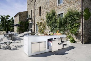 Contemporary Outdoor Kitchens Step Out to Enjoy The Beauty Modern