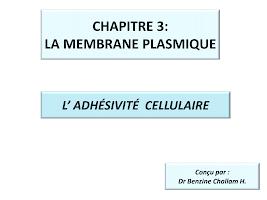 DIAPORAMA ADHESIVITE la membrane plasmique.pdf