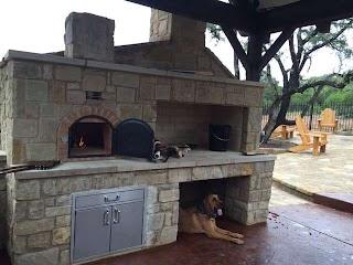 Outdoor Pizza Kitchen Brick Oven Kit Wood Burning Ovens Grillsn Ovens