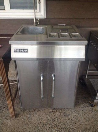 Jenn Air Outdoor Kitchen Freestanding Bbq Sink for Sale in King