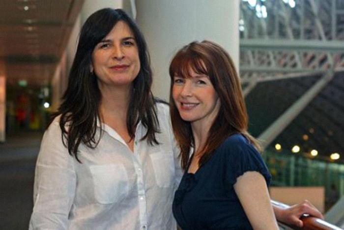 Pamela Rabe and Jacqueline McKenzie   Photo by Jane Shields