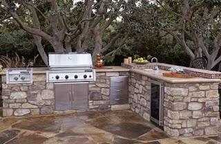 Stone Outdoor Kitchens Kitchen Kits Bob Vila