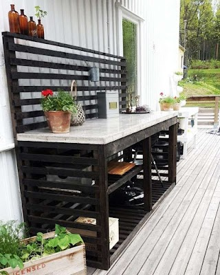 Building an Outdoor Kitchen with Wood This Is How to Build a Simple Outoor Sink Materials