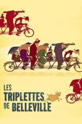 The Triplets of Belleville Poster