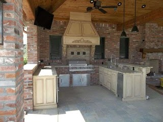 Outdoor Kitchens in Baton Rouge Kitchen Angelos Lawnscape La Kitchen