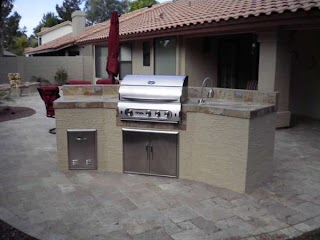 Outdoor Kitchens Arizona in Are a Hot Trend