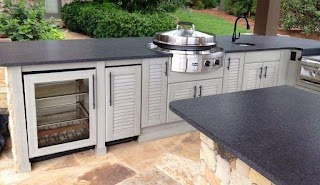 Weatherproof Outdoor Kitchen Cabinets Complete Your Space with and a Free