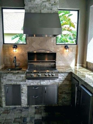 Outdoor Kitchen Vent Hood Image Result for Do You Need a If Is on A
