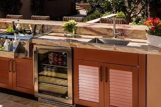 Outdoor Kitchen Sink Cabinet Brown Jordan S