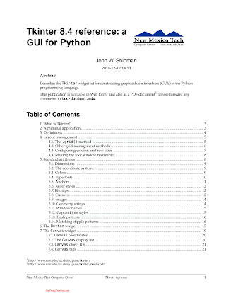 Tkinter 8.4 Reference-A GUI for Python.pdf