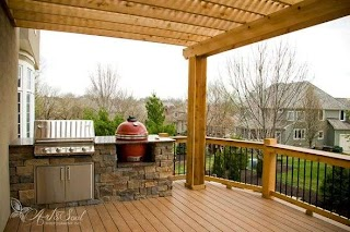 Outdoor Kitchen Cost Estimator Great Deckbuying Guide Along with a that Lets You