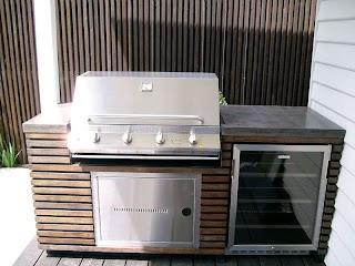 Outdoor Kitchen Bbq Melbourne Concrete Benchtops S Island