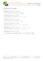 exercices Entiers naturels, d'nombrements Algebre 1.pdf