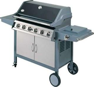 Grand Cafe Outdoor Kitchen Rinnai Bbq 6 Burner 2003