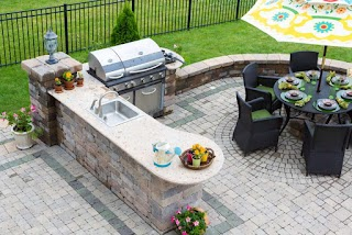 Cost Outdoor Kitchen How Much Does an in 2019 We Break It Down