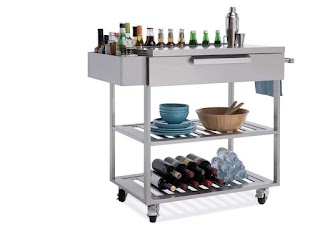 Outdoor Kitchen Storage Cart Cabinets Newage Products Us