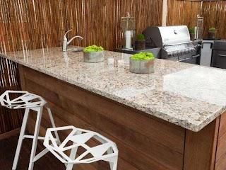 Outdoor Kitchen Counters Countertops Pictures Tips Expert Ideas Hgtv