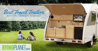 Camper with Outdoor Kitchen Top 5 Best Travel Trailers W S Rvingplanet