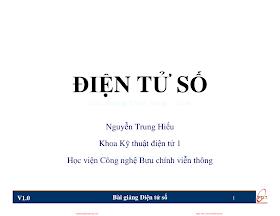 Slide.Điện Tử Số - Nguyễn Trung Hiếu, 178 Trang.pdf