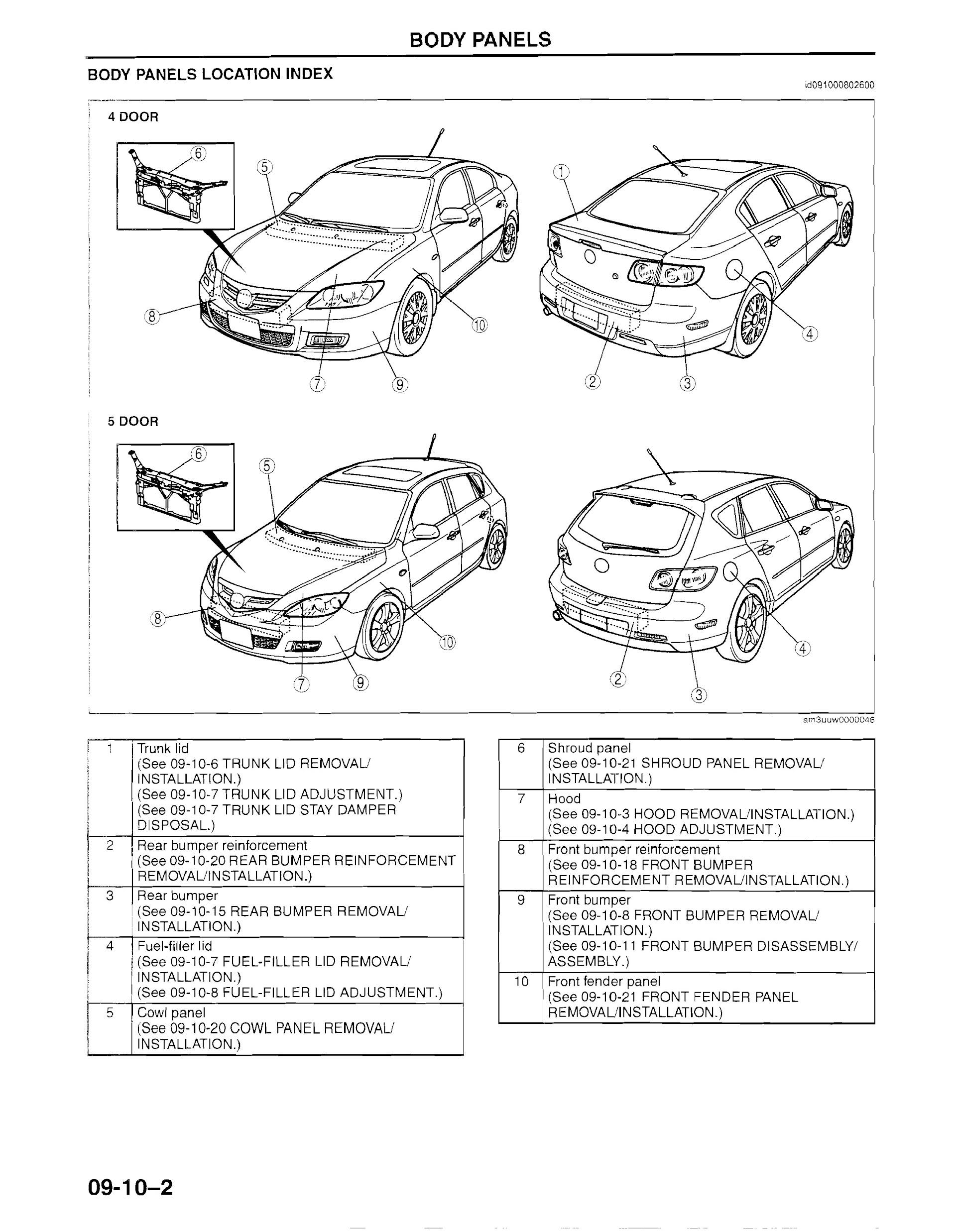 Download 2007 Mazda3 Repair Manual
