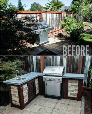 Brick Outdoor Kitchen 15 Amazing DIY Plans You Can Build on a Budget Diy