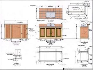 Outdoor Kitchen Construction Plans Design