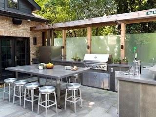 Modern Outdoor Kitchen Ideas Top 60 Best Chef Inspired Backyard Designs