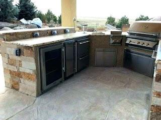 Outdoor Kitchen Reviews Unbelievable Refrigerator Artmirrorme
