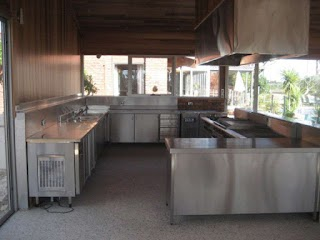 Outdoor Commercial Kitchen Complete Catering Equipment