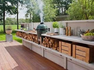 Concept Outdoor Kitchens Long Rustic Kitchen Tedxoakville Home Blog