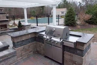 Commercial Outdoor Kitchen Countertops Affordable Quality Marble and Granite