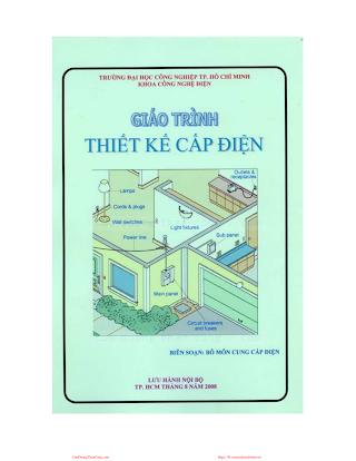 ĐHCN.Giáo Trình Thiết Kế Cấp Điện - Nhiều Tác Giả, 137 Trang.pdf