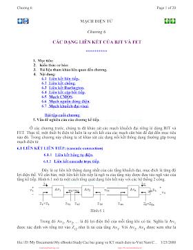 Mach Dien Tu Tuong Tu_6___Cac_dang_lien_ket_cua_BJT_va_FET.pdf