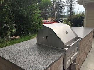 Quartz Countertops for Outdoor Kitchens Granite in Around Milwaukee