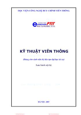 BCVT.Kỹ Thuật Viễn Thông - Ts. Nguyễn Tiến Ban, 145 Trang.pdf