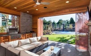 Outdoor Kitchen Pavilion 38 Beautiful Backyard Ideas Design Pictures Designing Idea