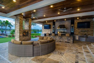 Houzz Outdoor Kitchens a Look at Some From Com Homes of The Rich