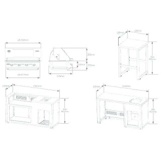 Outdoor Kitchen Height Dimensions Advanceloan