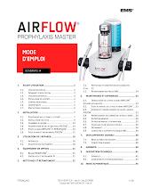 Guide D'utilisation AIRFLOW Prophylaxis Master FR