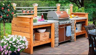 Build Your Own Outdoor Kitchen Island Bbq New 17 Plans Turn