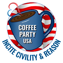 Coffee Party USA (logo): Incite Civility and Reason